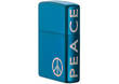 Zippo Peace On The Side Windproof Lighter - 21055