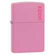 Zippo Pink with Zippo Logo Windproof Lighter - 238ZL