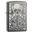 Zippo SOA Reaper Crew Black Ice Windproof Lighter - 28757