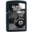 Zippo SOA Reaper Crew Windproof Lighter, Black - 28677