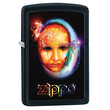 Zippo Venetian Mask Windproof Lighter, Black - 28669