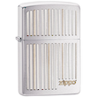 Zippo Vertical Lines Windproof Lighter - 28646