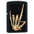 Zippo Heavy Metal Salute Windproof Lighter - 28438